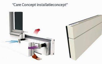 Installatieconcept Care Concept; altijd genoeg frisse lucht